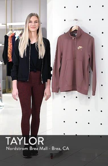 Air Quarter Zip Fleece Top, sales video thumbnail