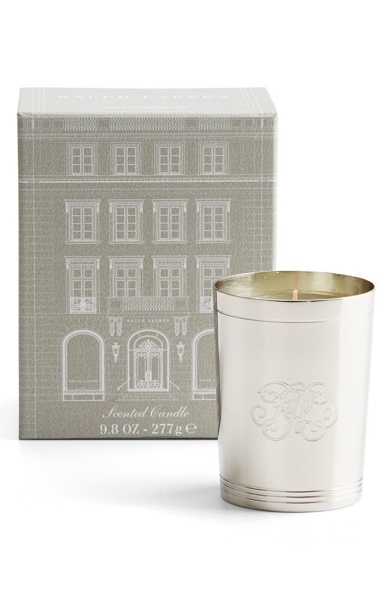 RALPH LAUREN 888 Collection Single Wick Candle, Main, color, SILVER