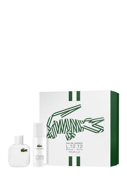Image of Lacoste L.12.12 Blanc Pour Lui 2-Piece Gift Set