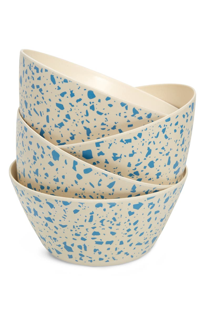 XENIA TALER Lido Set of 4 Cereal Bowls, Main, color, LIDO