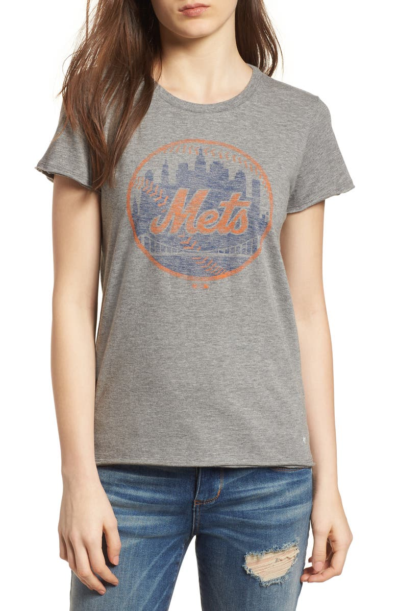 '47 New York Mets Fader Letter Tee, Main, color, 021