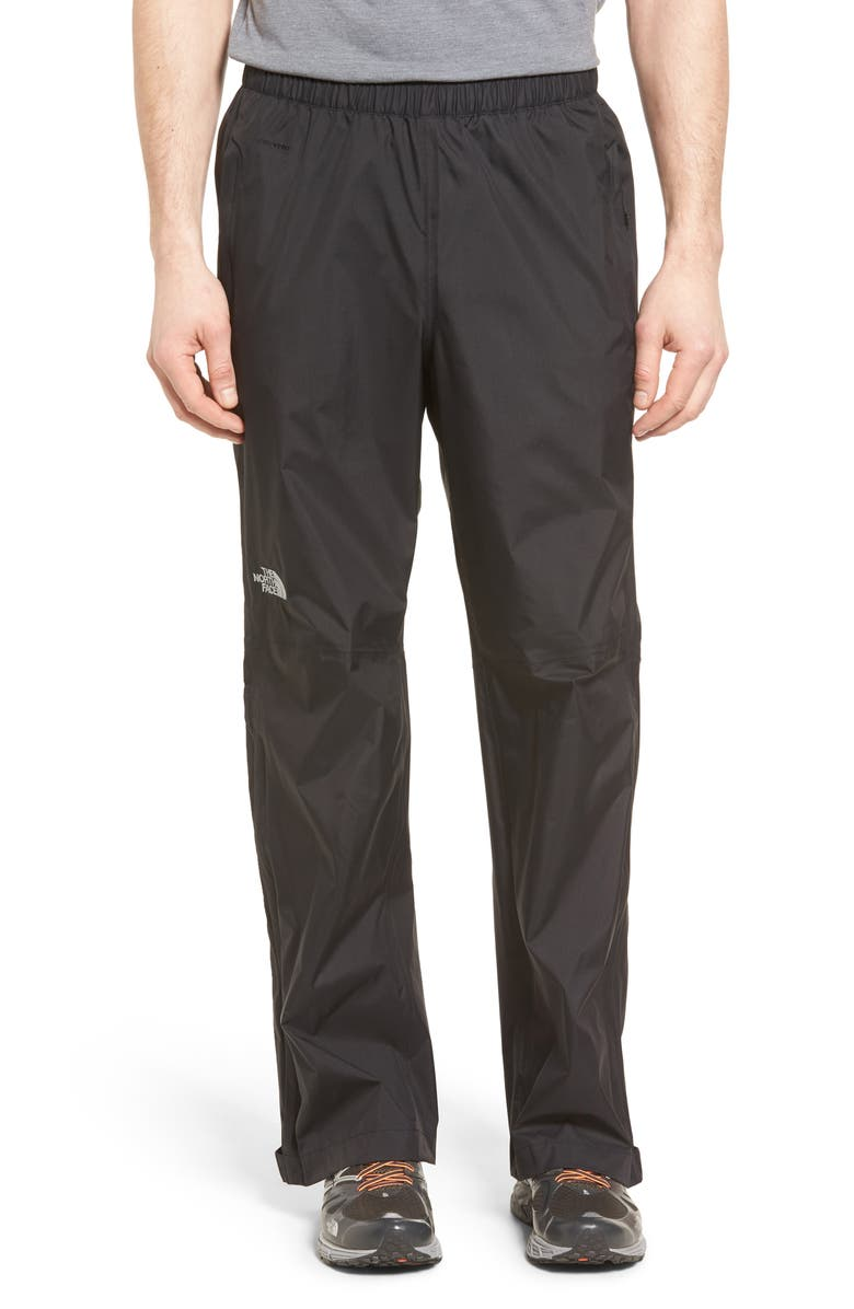 THE NORTH FACE Venture Waterproof Pants, Main, color, BLACK
