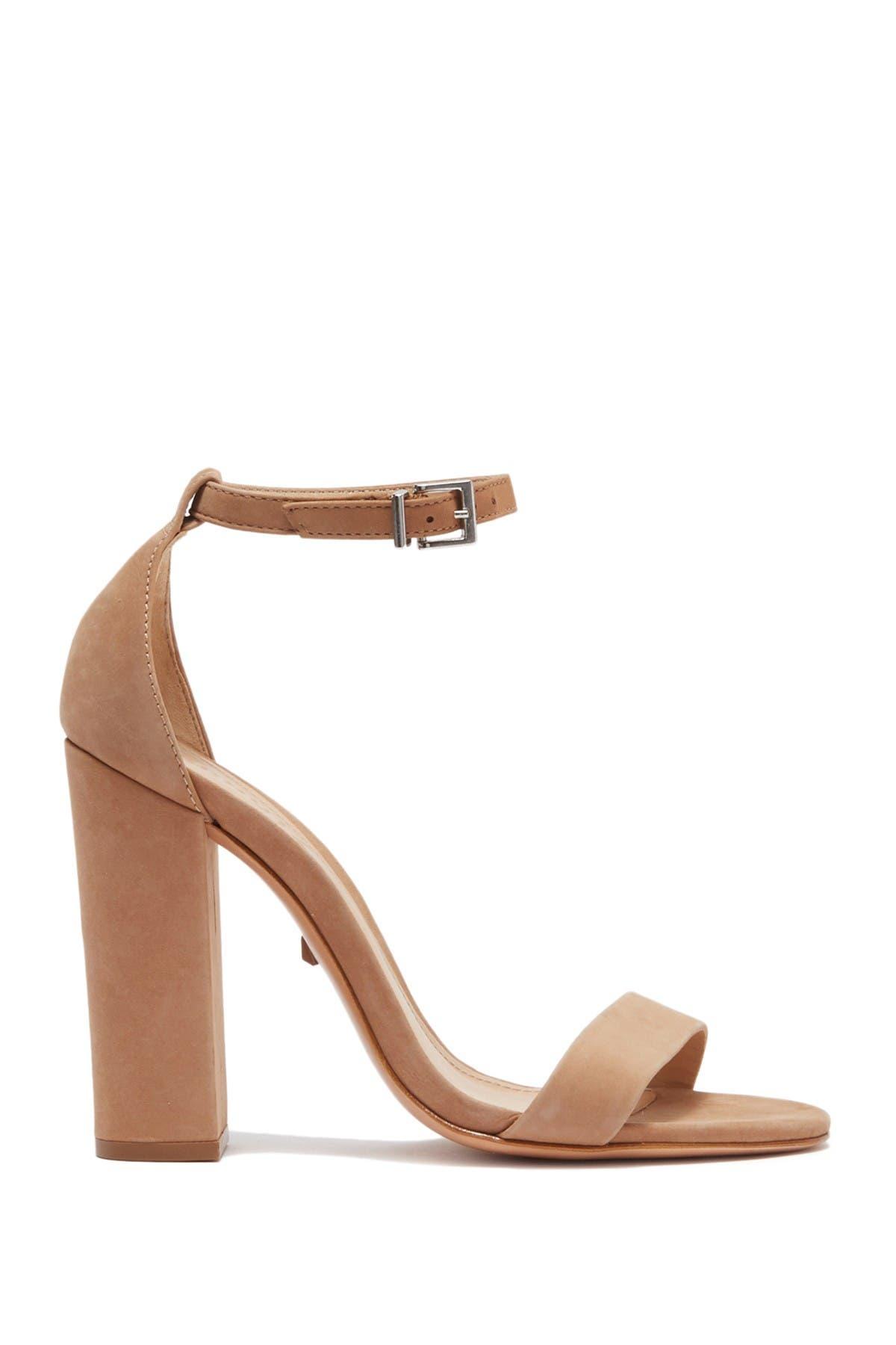 Image of Schutz Enida Suede Block Heel Sandal
