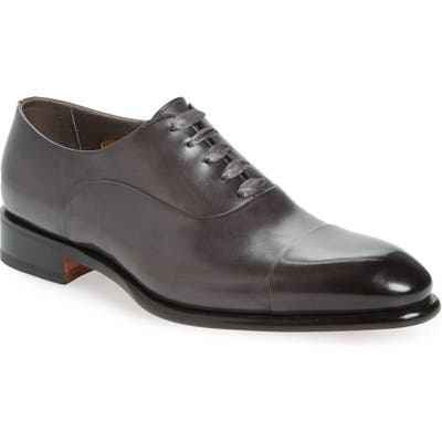 Santoni Isaac Cap Toe Oxford - Grey