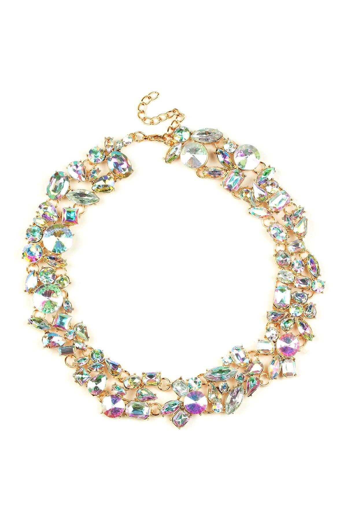 Eye Candy Los Angeles Multicolored Collar Necklace at Nordstrom Rack