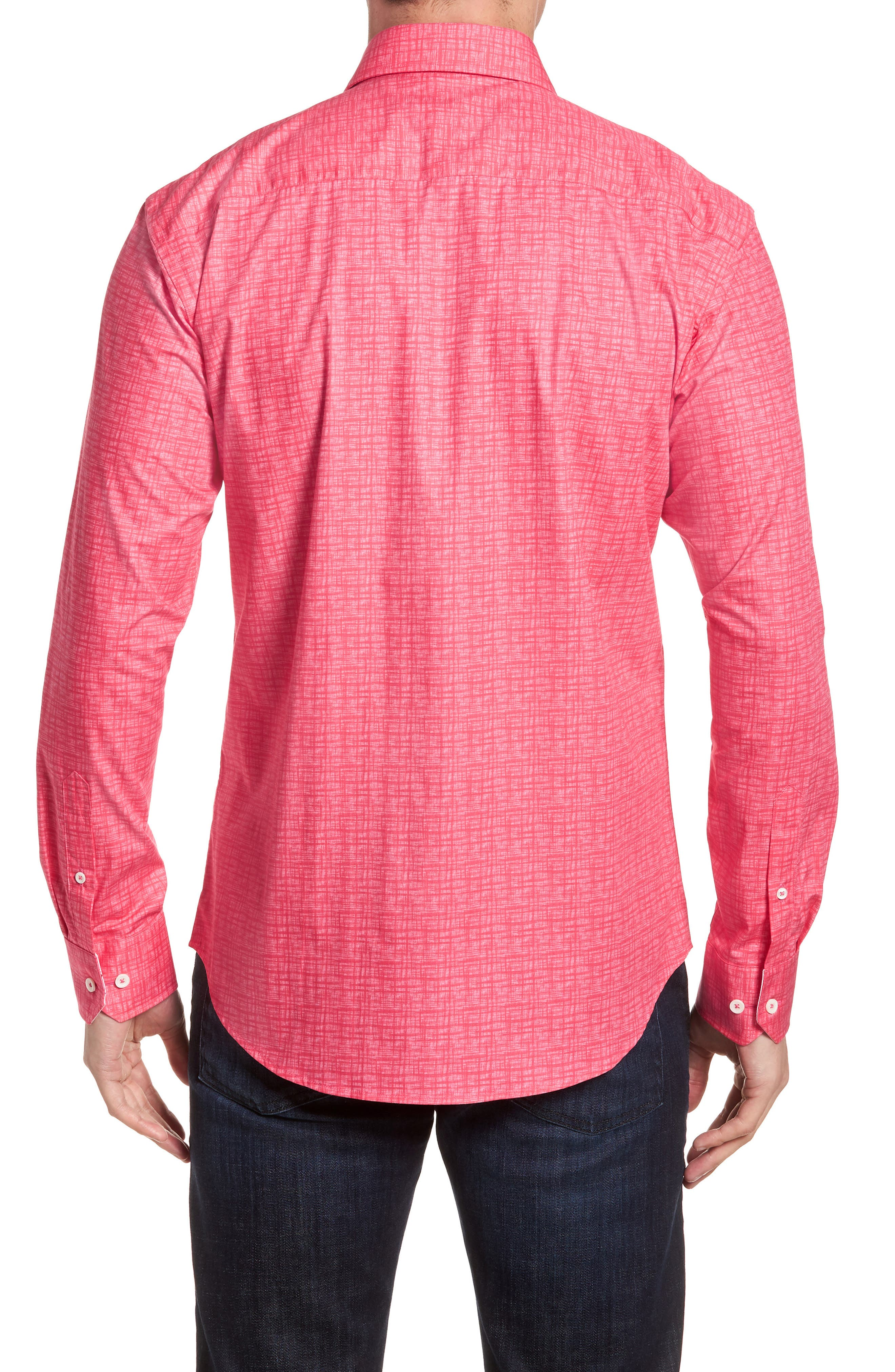 ,                             Shaped Fit Freehand Sport Shirt,                             Alternate thumbnail 44, color,                             671
