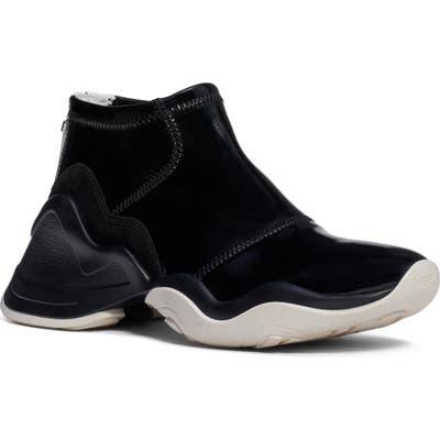 Fendi Technice Mid Top Sneaker, Black