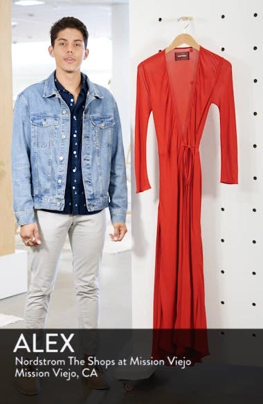 Jaz Wrap Midi Dress, sales video thumbnail