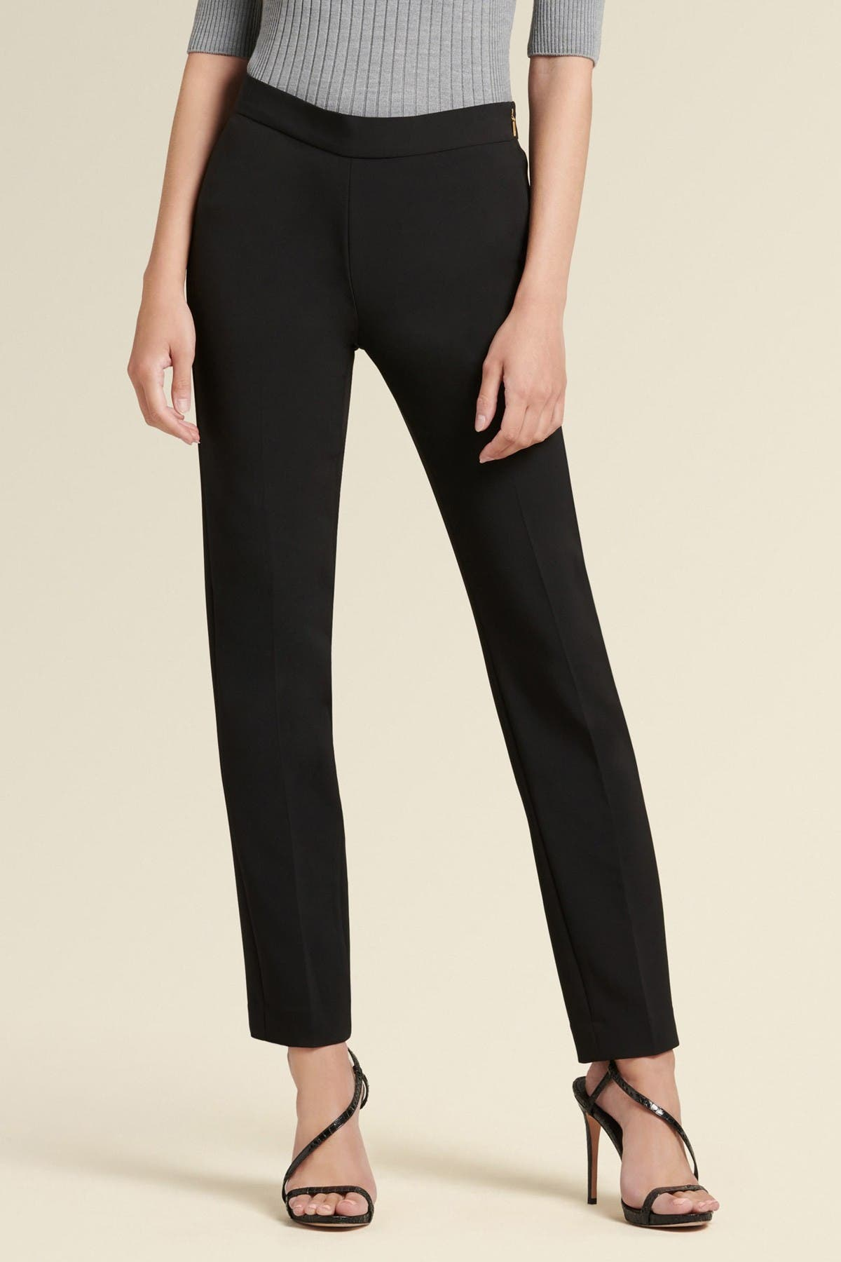 Image of DKNY Side Zip Straight Leg