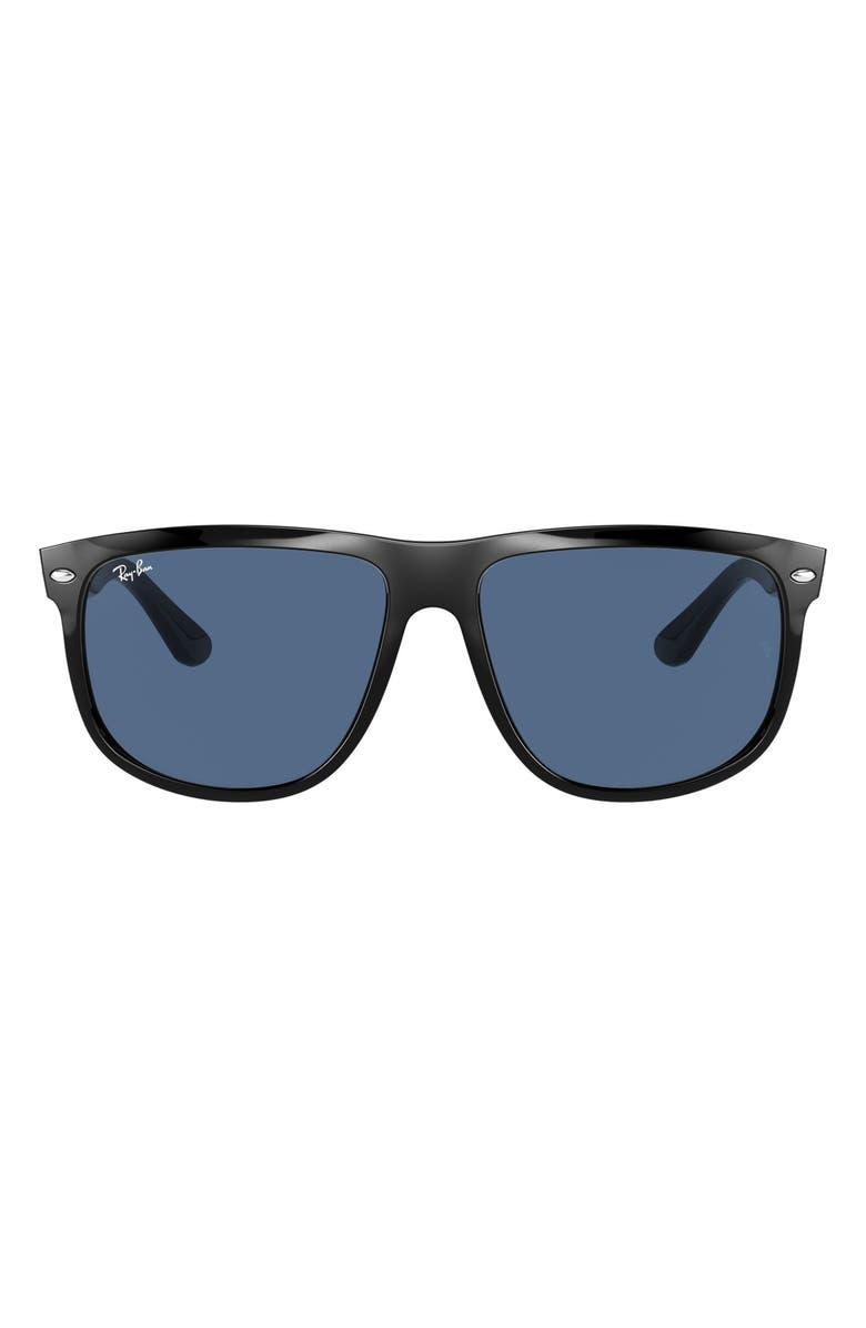 RAY-BAN Boyfriend 60mm Flat Top Sunglasses, Main, color, 009