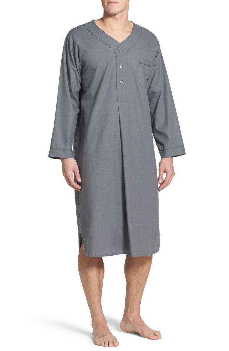 MAJESTIC INTERNATIONAL Cotton Nightshirt, Main, color, 020