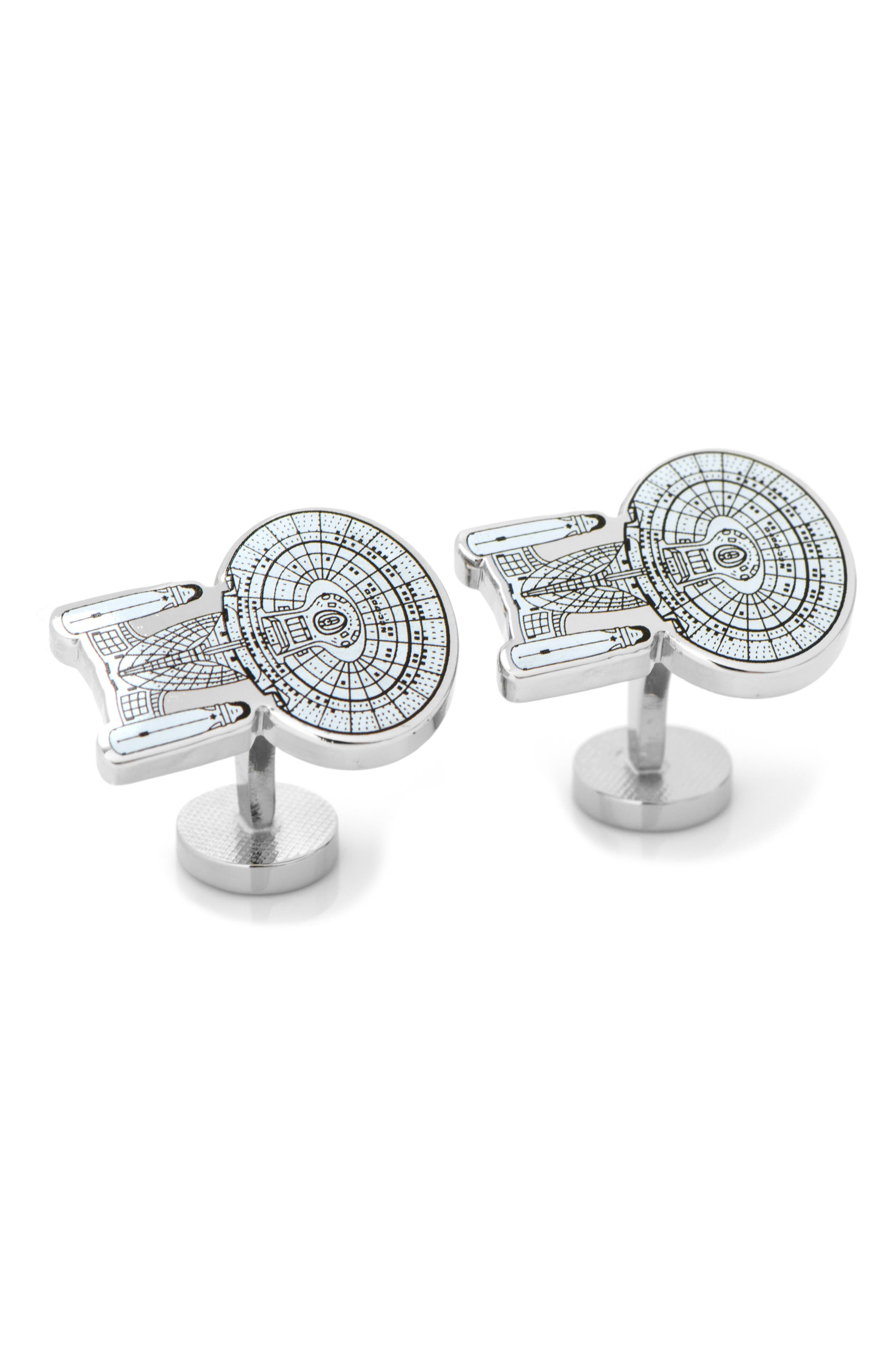 Cufflinks Inc Mens Star Trek Enterprise Cufflink