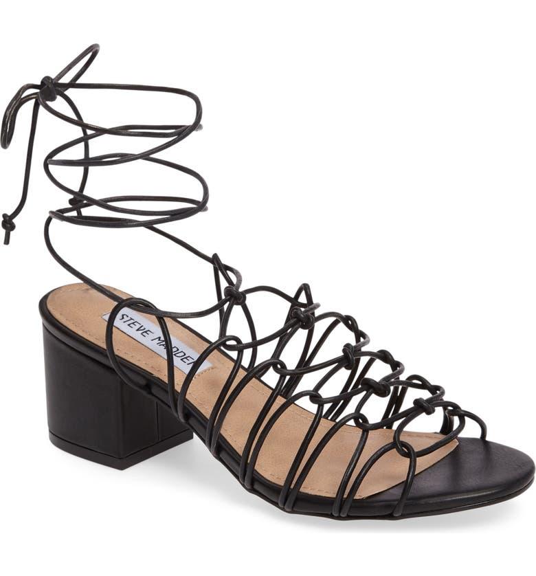 7d4afc0c9d7 Steve Madden Illie Knotted Lace Sandal (Women) | Nordstrom
