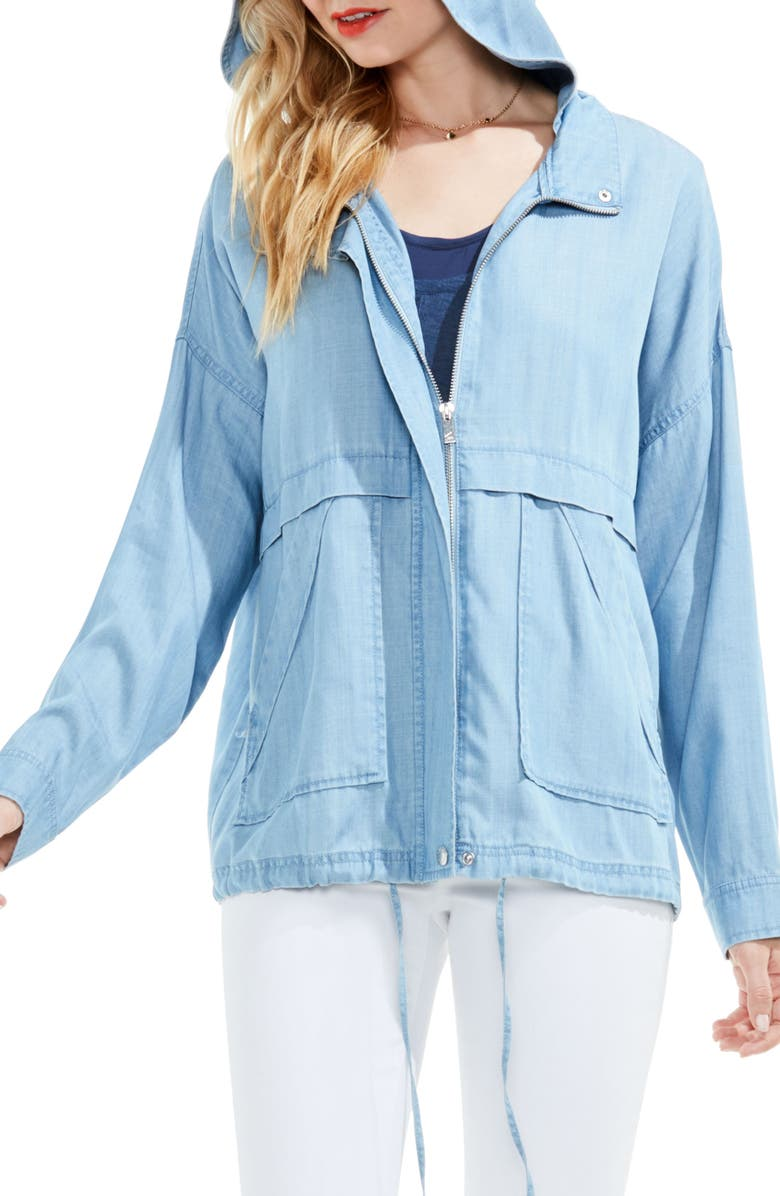 VINCE CAMUTO Two by Vince Camuto Tencel<sup>®</sup> Lyocell Jacket, Main, color, 410