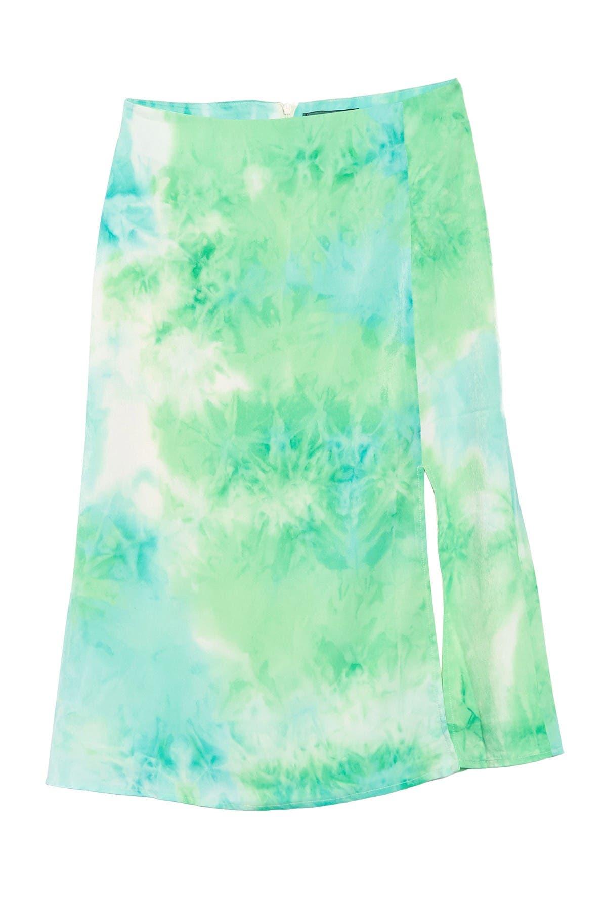 Image of 4SI3NNA Josie Tie Dye Skirt