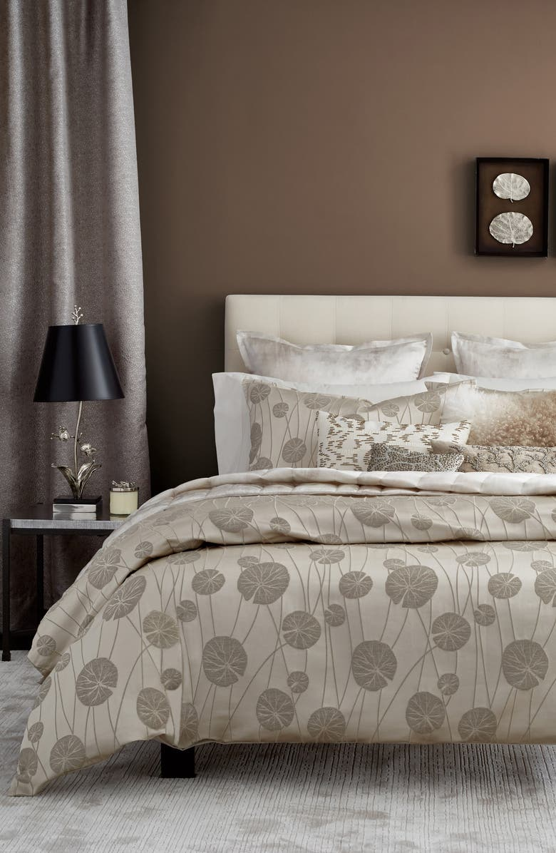 MICHAEL ARAM Lily Pad Duvet Cover, Main, color, 250
