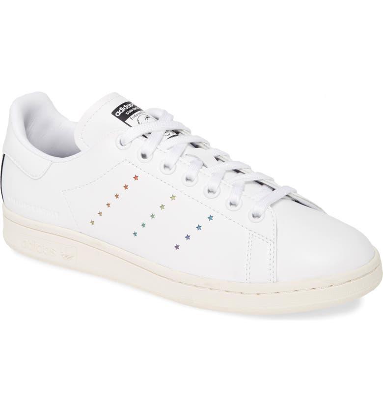 STELLA MCCARTNEY Stella Stan Smith Low Top Sneaker, Main, color, WHITE/ MULTI