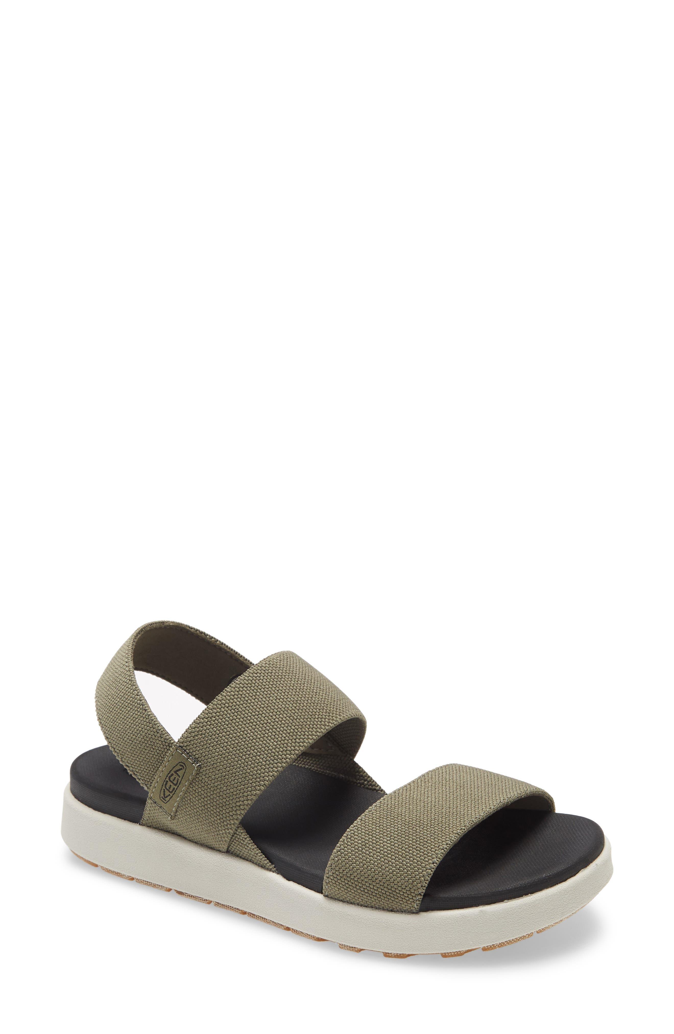 Elle Webbing Strap Sandal