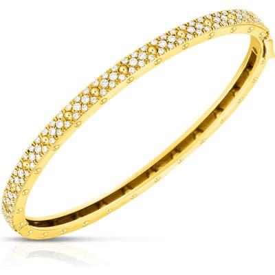 Roberto Coin Symphony Pois Mois Diamond Bangle Bracelet