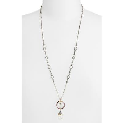 Konstantino Pythia Double Drop Pendant Necklace