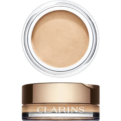 Clarins Ombre Cream Eyeshadow - 01 White Shadow
