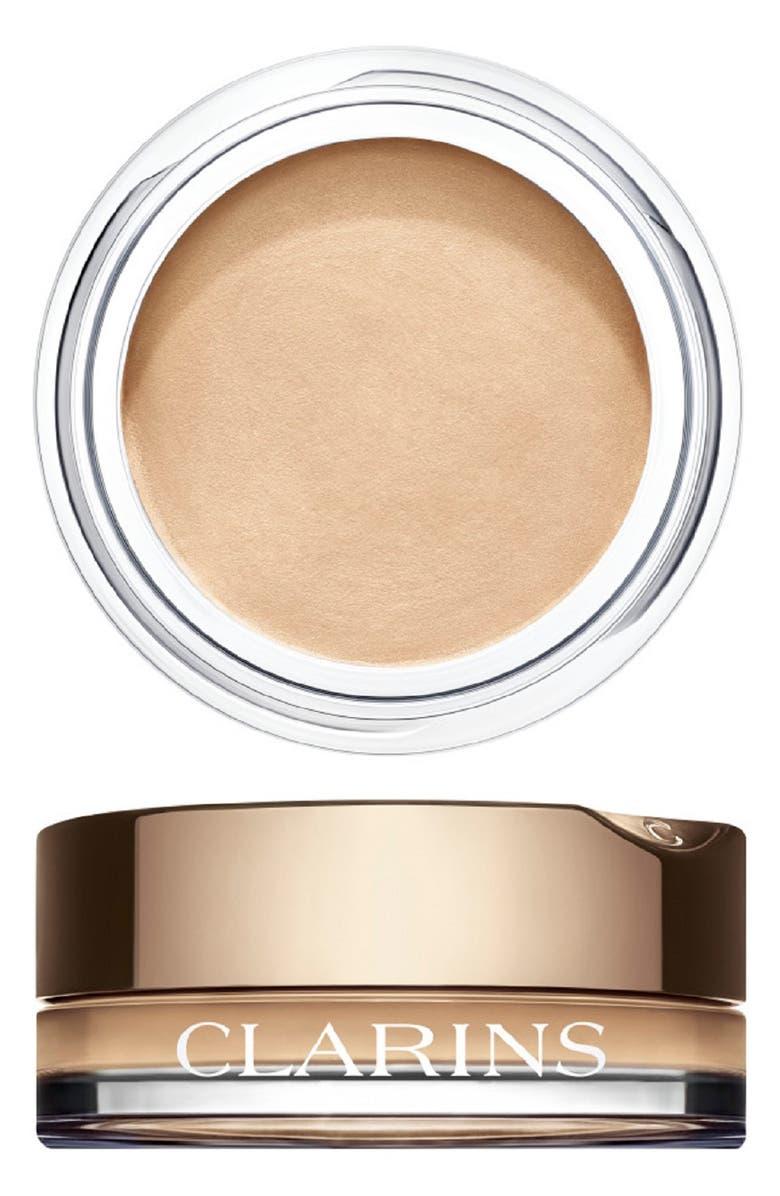 CLARINS Ombré Cream Eyeshadow, Main, color, 01 WHITE SHADOW