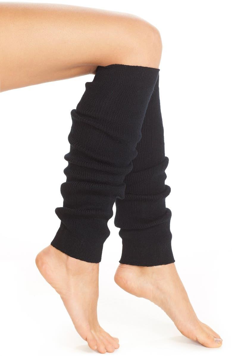 ZELLA Knit Leg Warmers, Main, color, 001