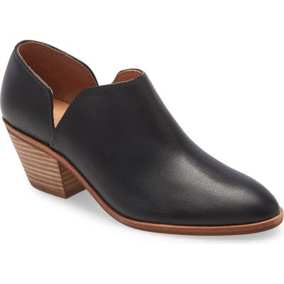 Madewell The Brady Low-Cut Bootie, Black