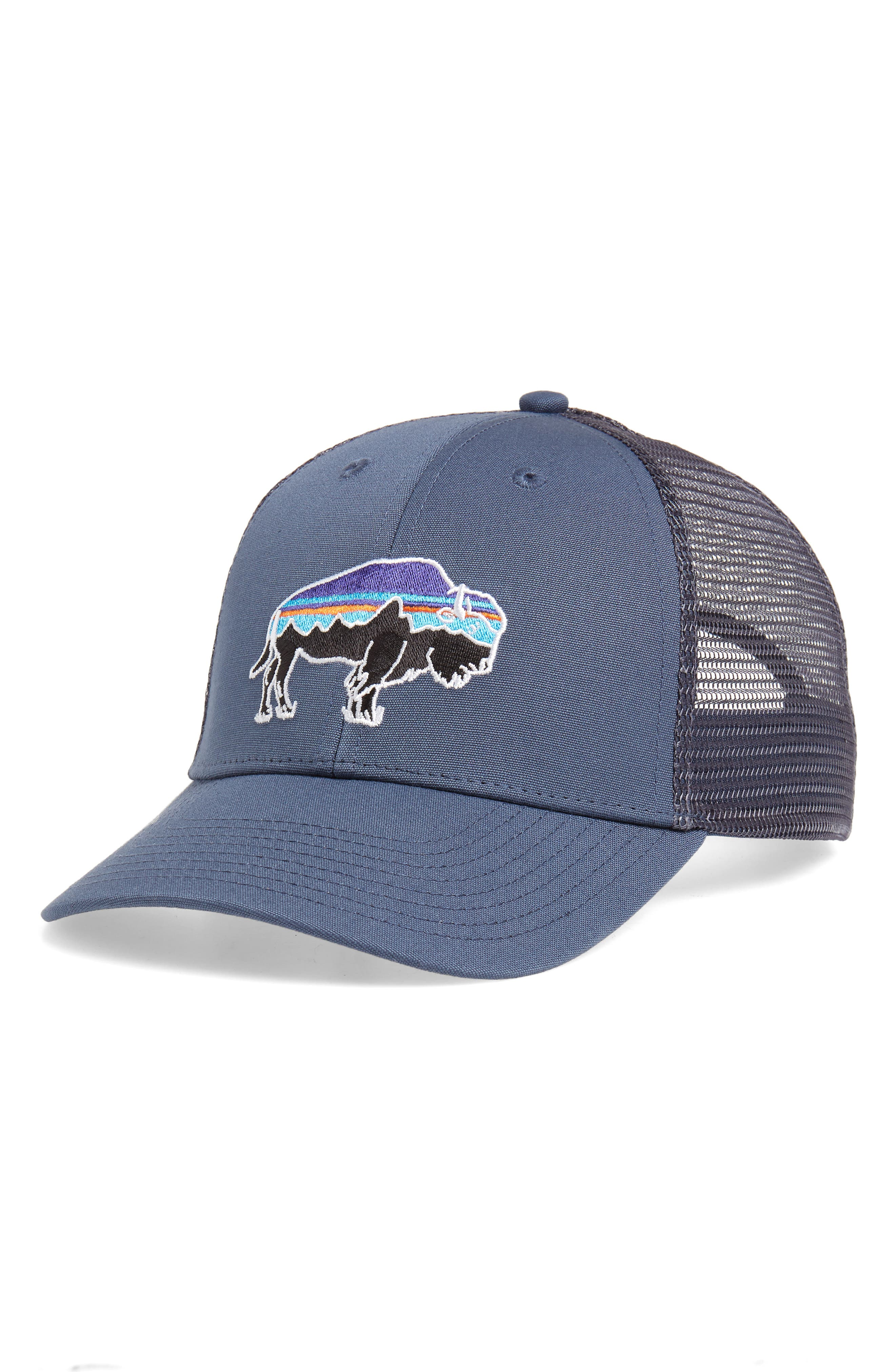 ,                             Fitz Roy Bison Trucker Hat,                             Main thumbnail 7, color,                             402