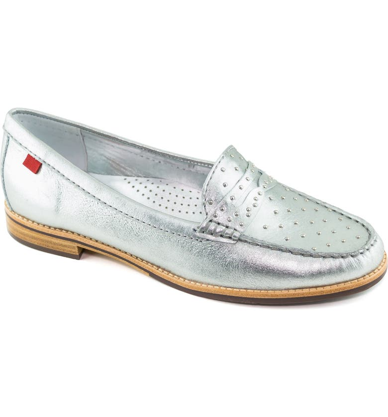 MARC JOSEPH NEW YORK East Village III Studded Loafer, Main, color, 040