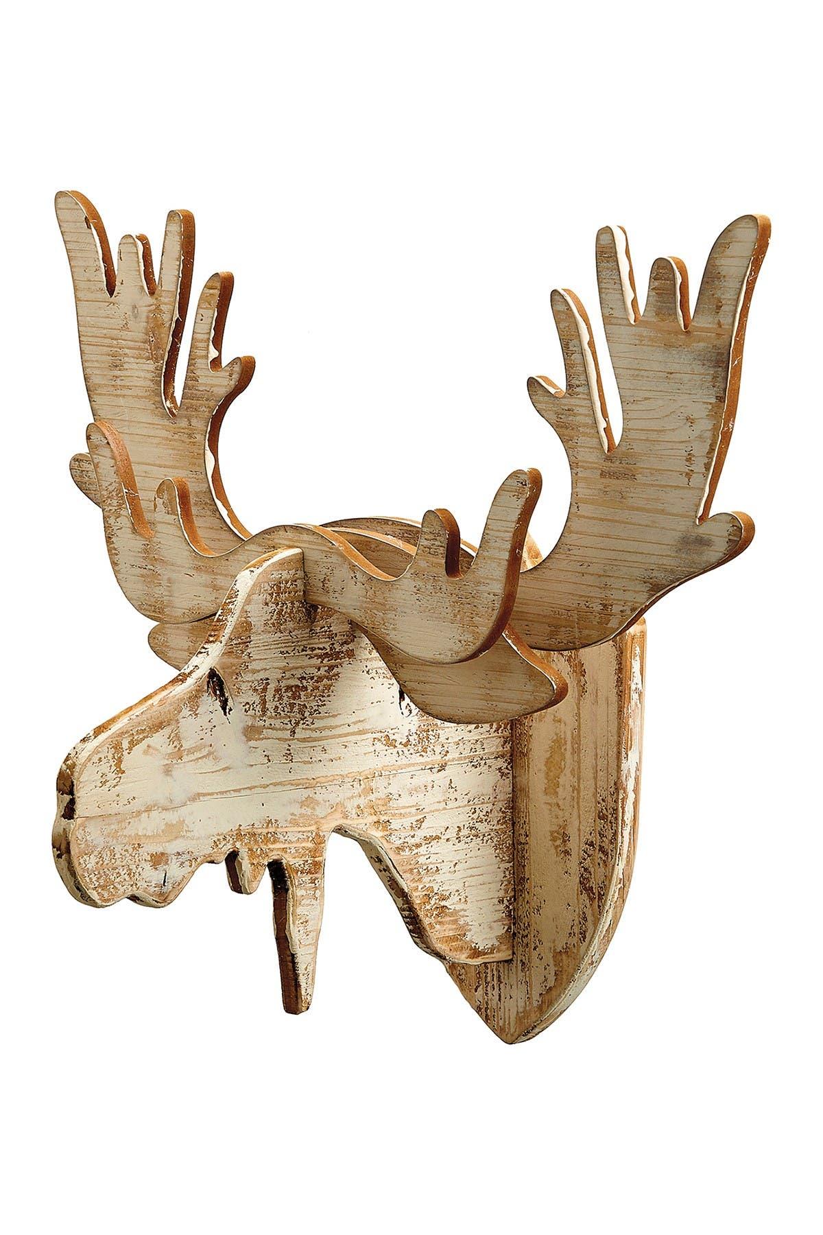 "Image of ALLSTATE 23"" Moose Head Wall Decor"