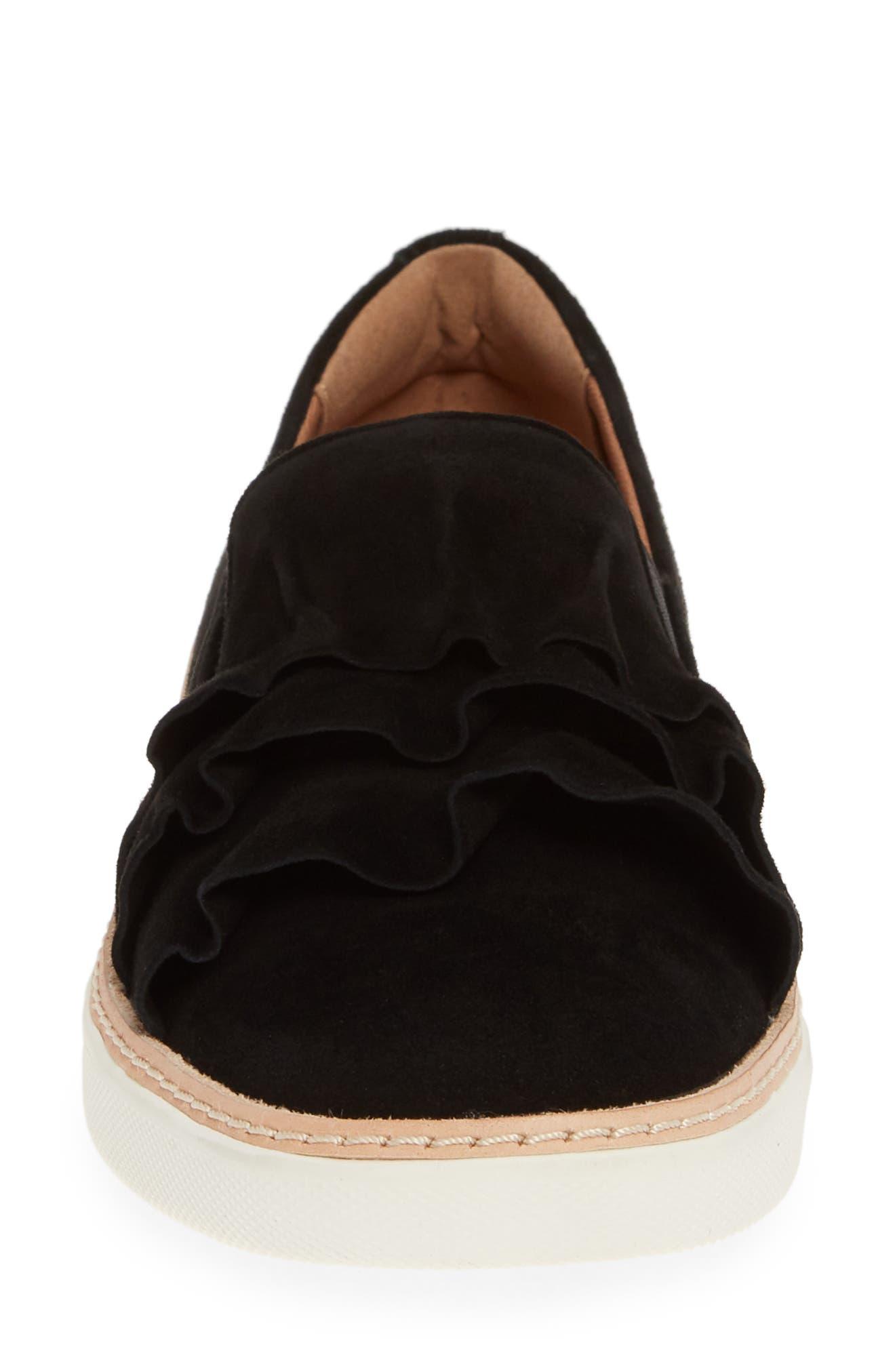 ,                             Mahalo Sneaker,                             Alternate thumbnail 4, color,                             BLACK SUEDE
