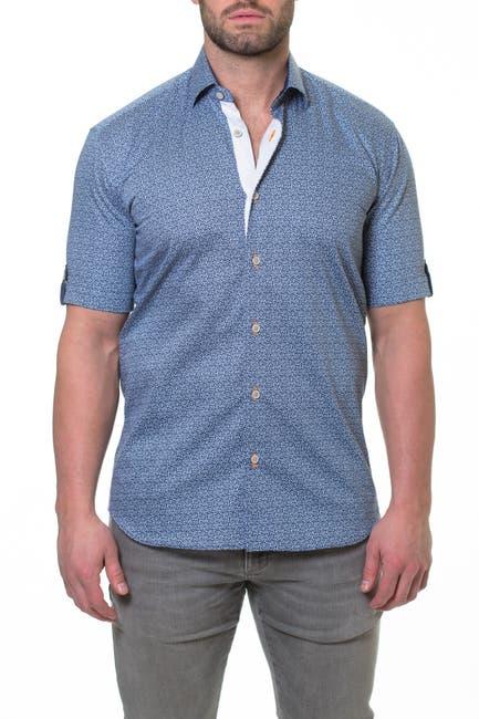 Image of Maceoo Fresh Aztec Print Slim Fit Sport Shirt