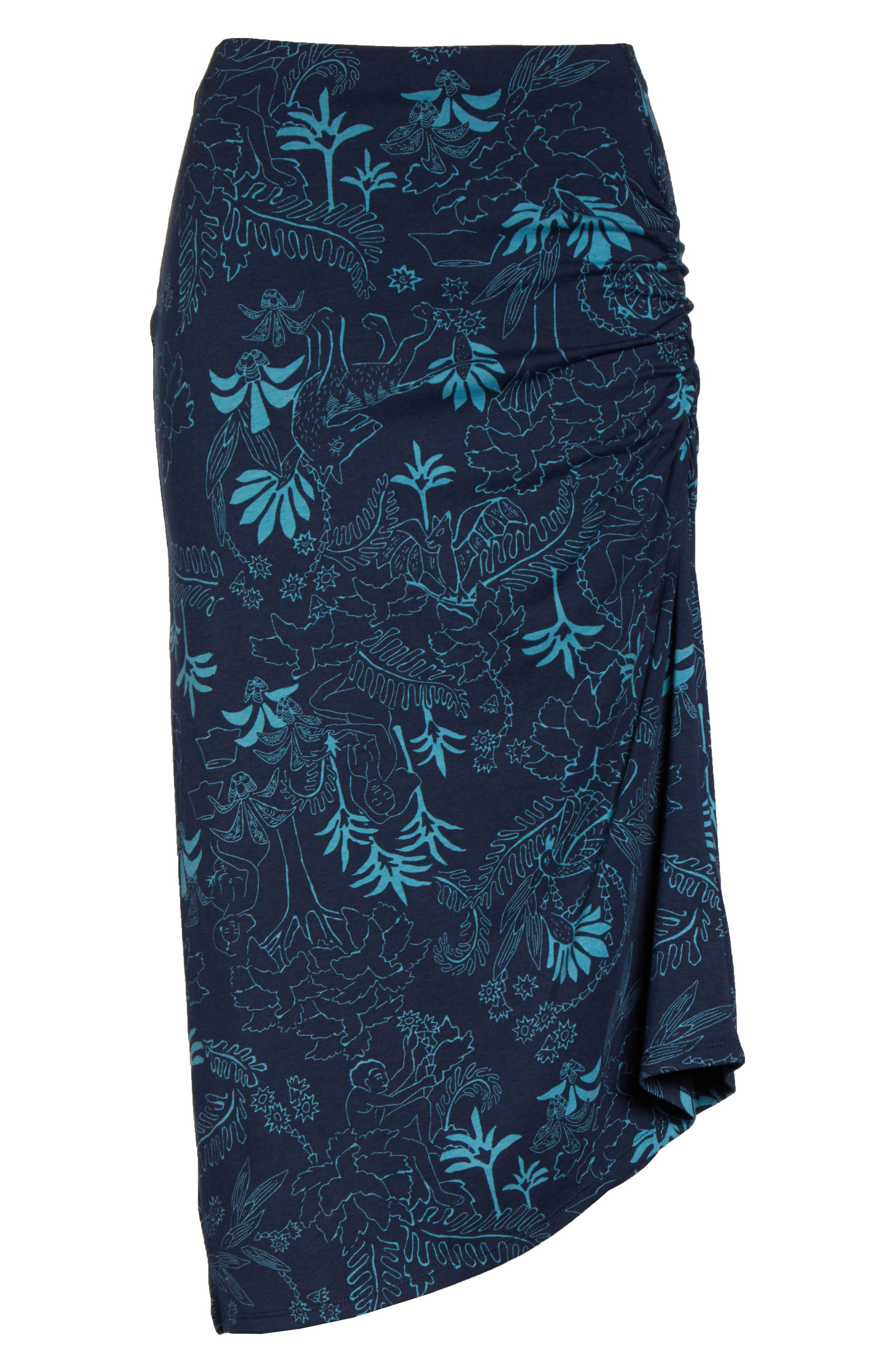 ,                             Dream Song Skirt,                             Alternate thumbnail 7, color,                             BEYOND EXTINCT/ NEO NAVY