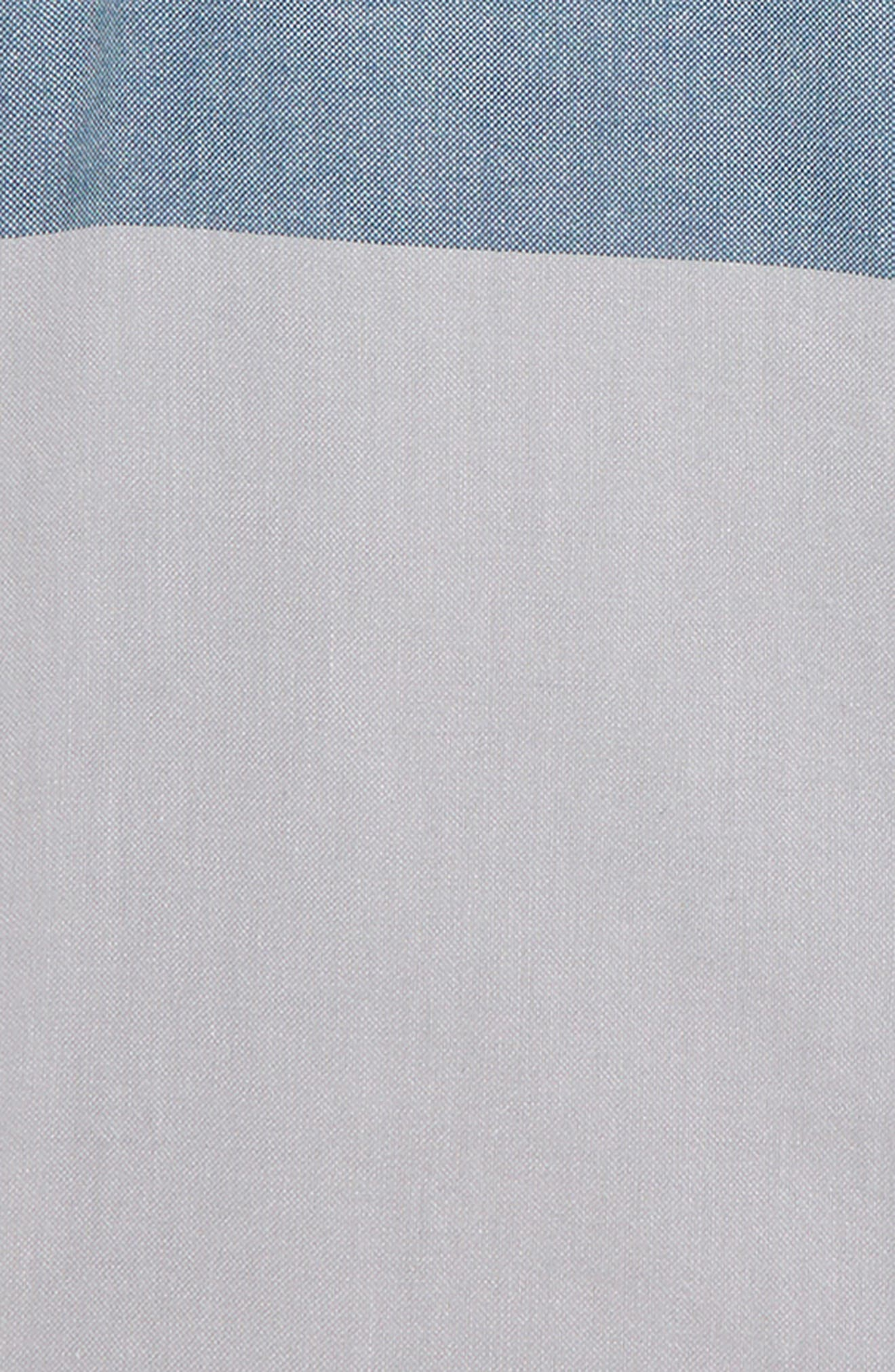 ,                             Estancia Woven Sport Shirt,                             Alternate thumbnail 2, color,                             WHITE/ HIGH RISE