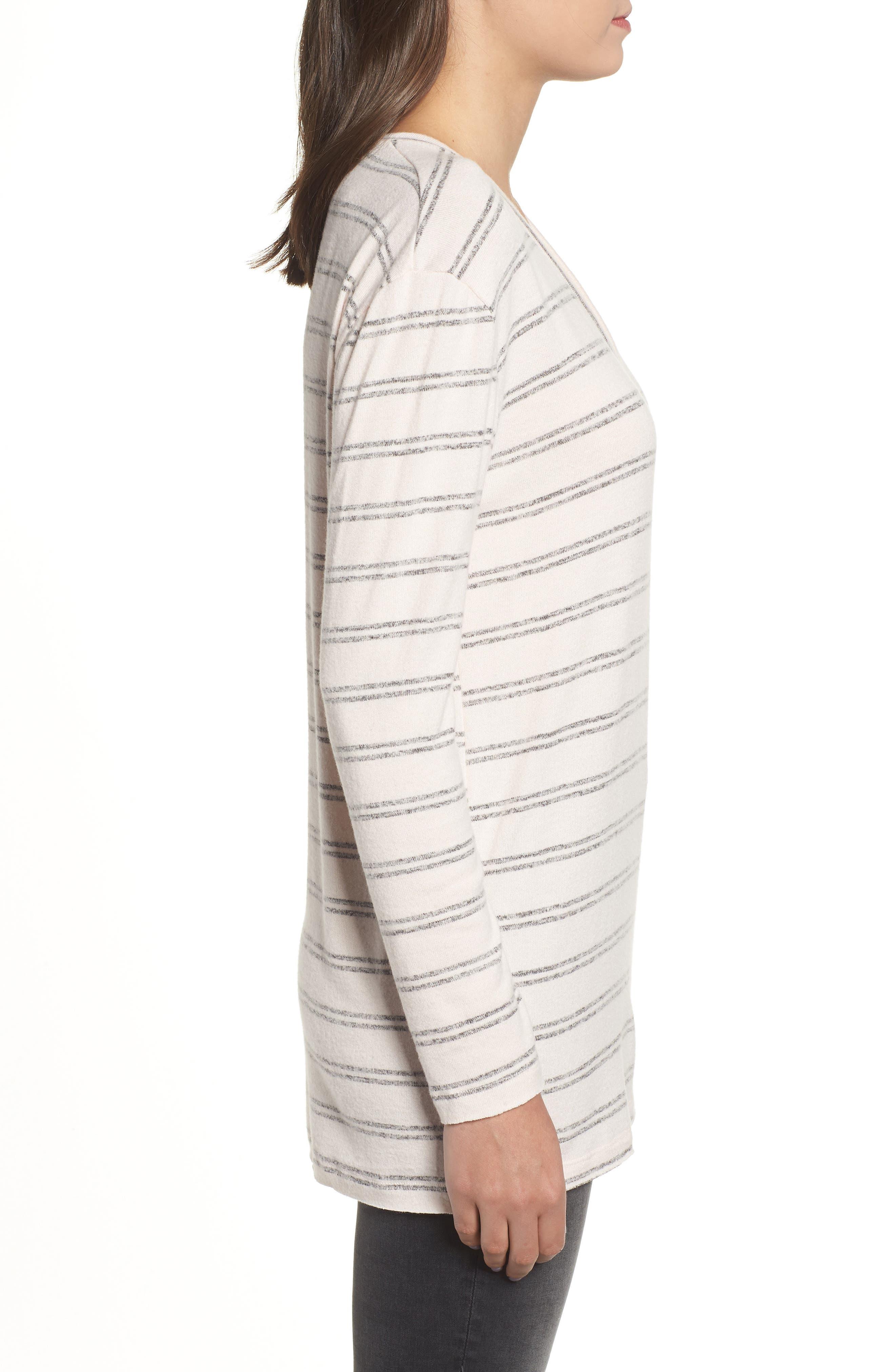 ,                             Cozy V-Neck Sweater,                             Alternate thumbnail 22, color,                             660