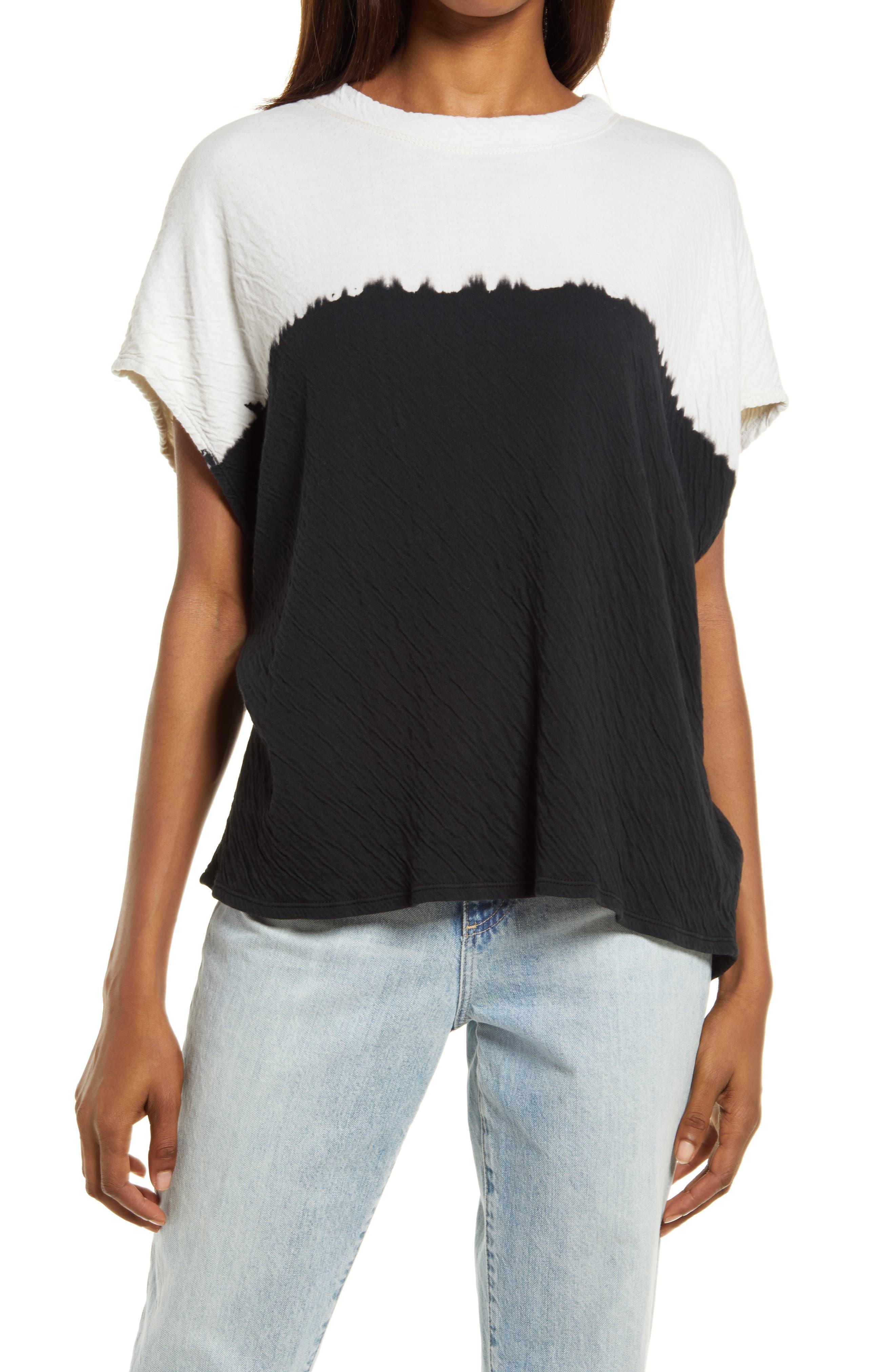 Dip Dye Boxy T-Shirt