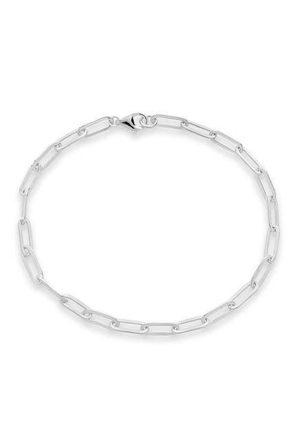 Image of Sterling Forever Sterling Silver Delicate Link Bracelet