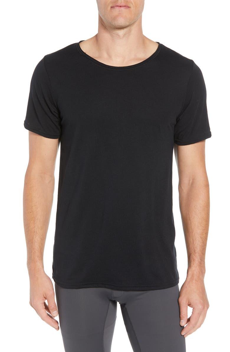 ALO Ultimate T-Shirt, Main, color, 001