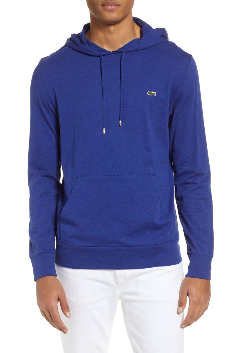 LACOSTE Pullover Hoodie, Main, color, 401