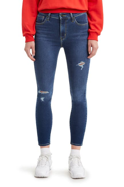 Image of Levi's 720 High Rise Super Skinny Crop Jeans