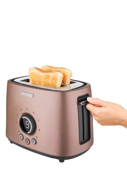 Image of SENCOR Pink Digital 2-Slot Toaster