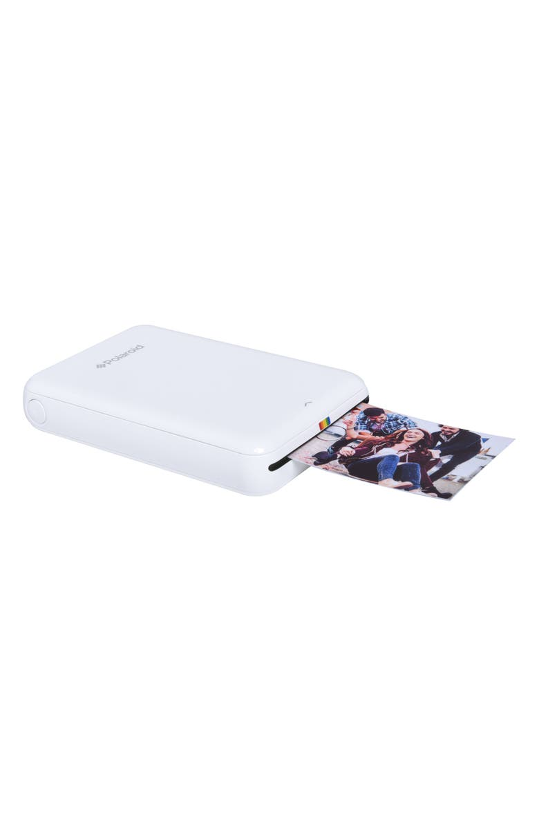 POLAROID ZIP Instant Mobile Photo Printer, Main, color, WHITE