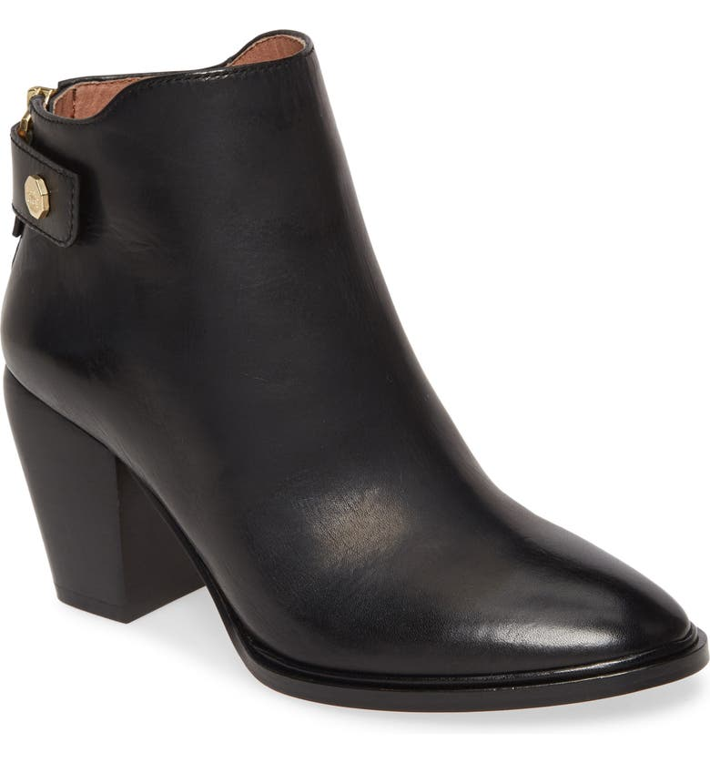 LOUISE ET CIE Thisbee Bootie, Main, color, BLACK