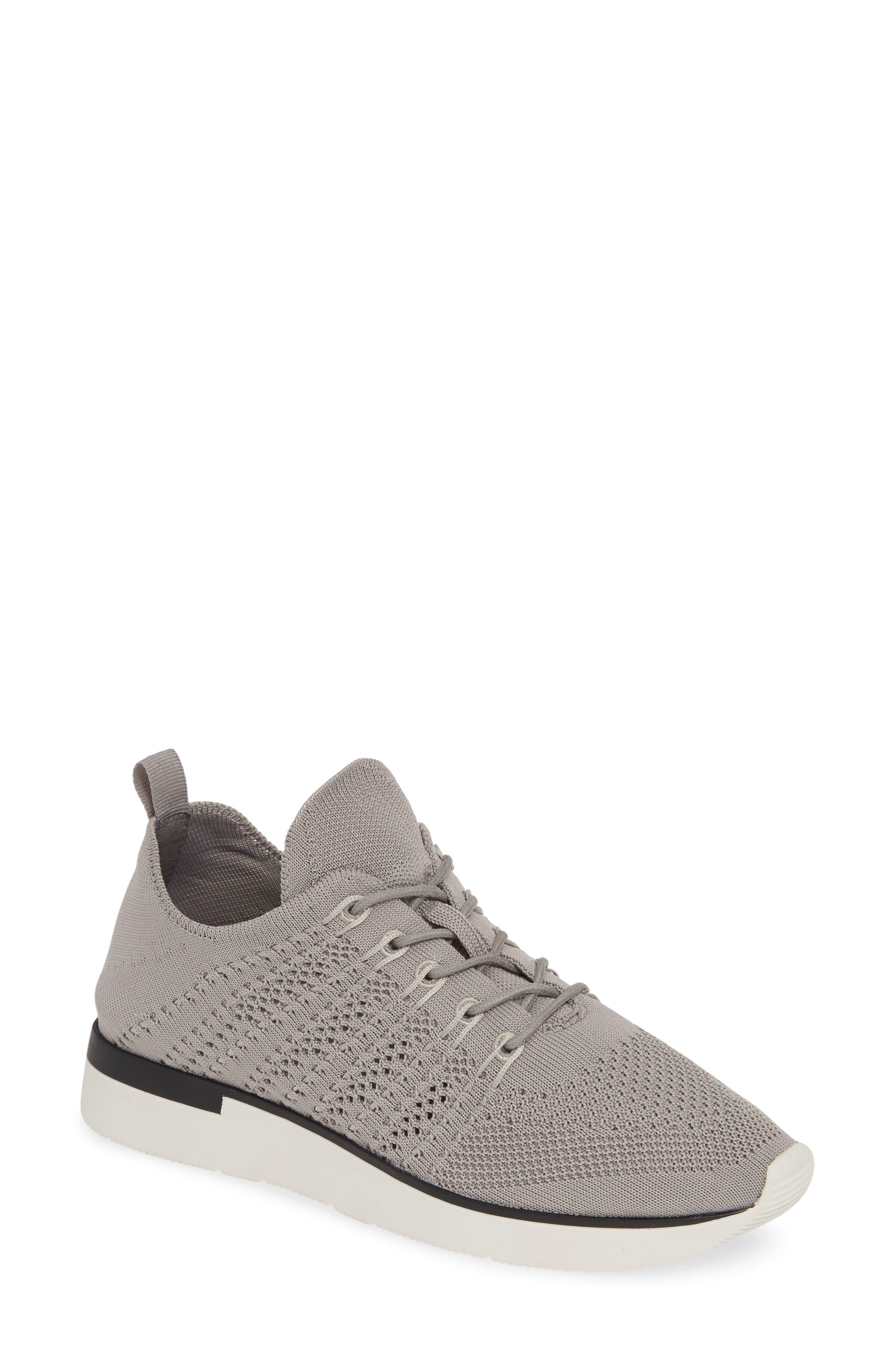 Jslides Gigi Knit Low Top Sneaker, Grey
