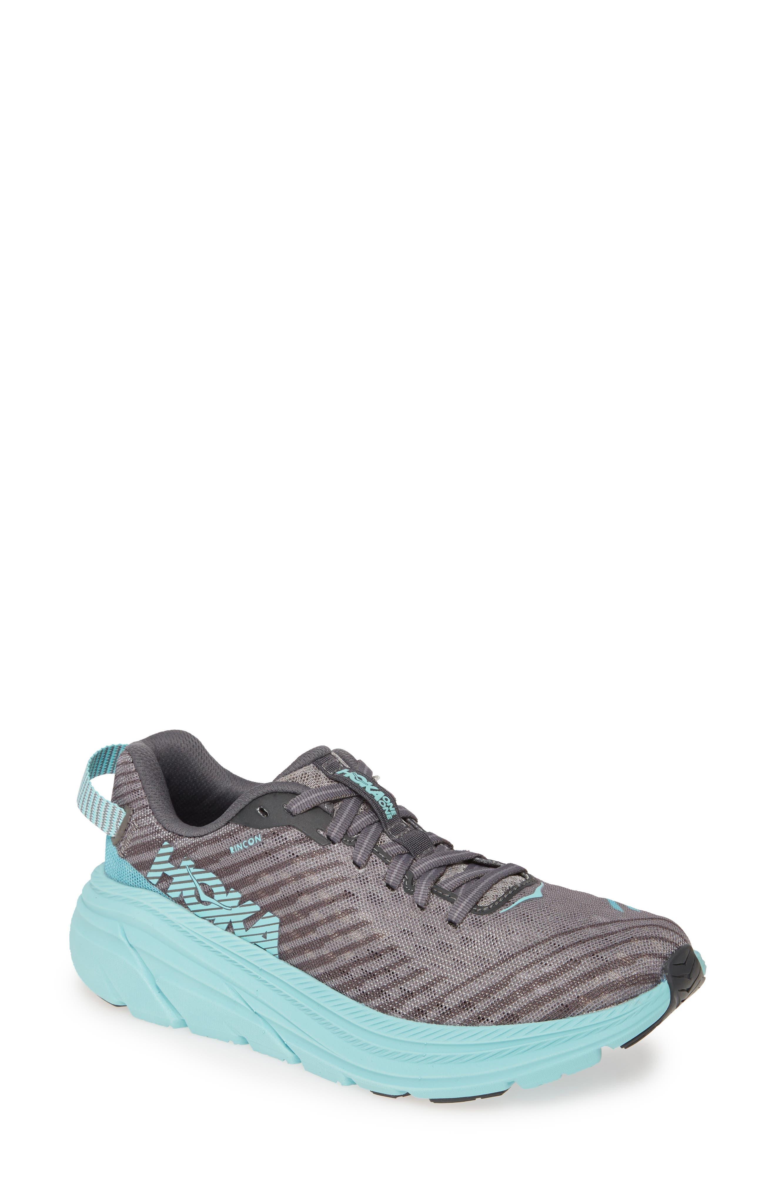 Hoka One One Rincon Running Shoe- Grey