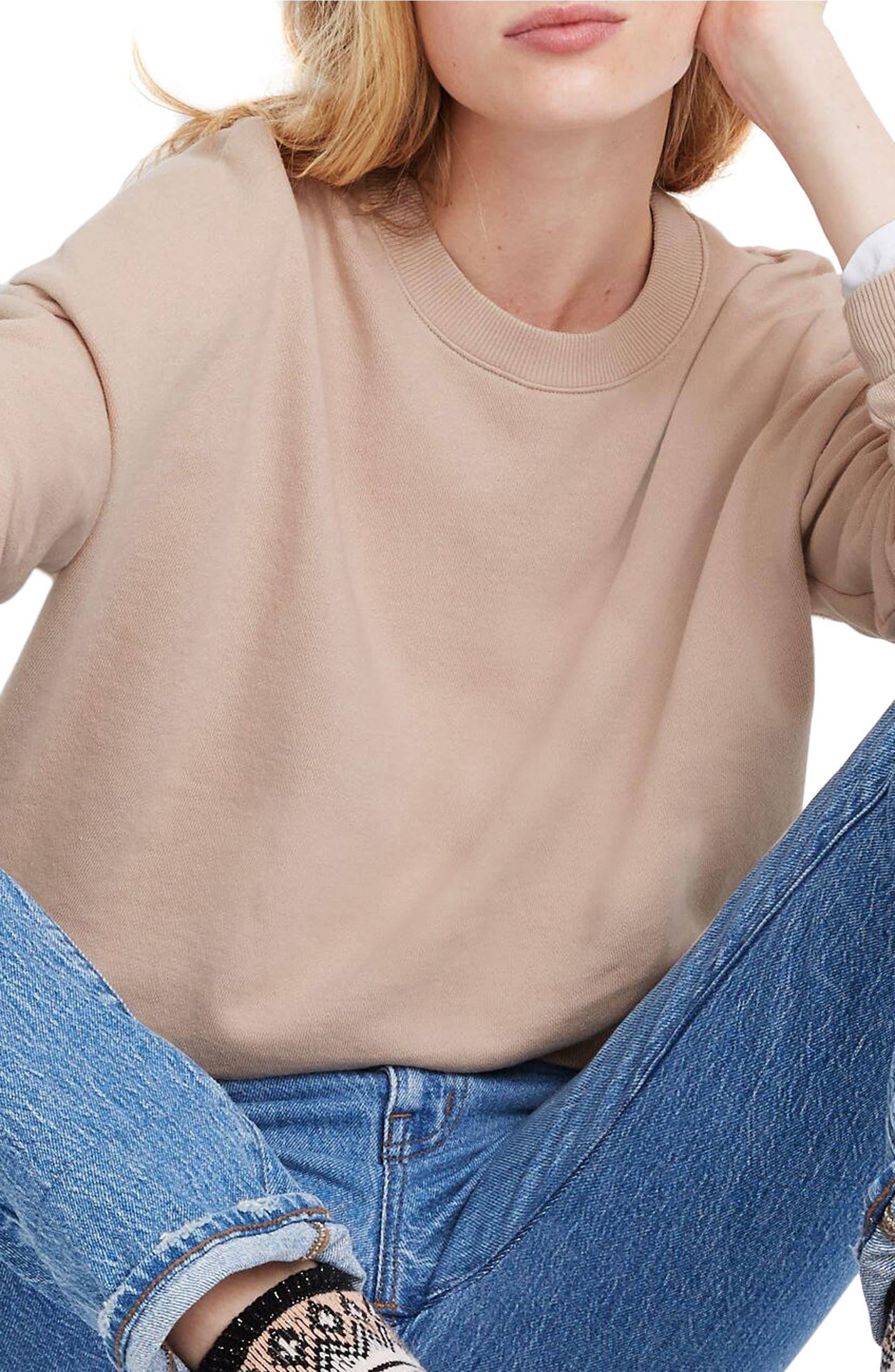 Recycled Cotton Oversize Sweatshirt