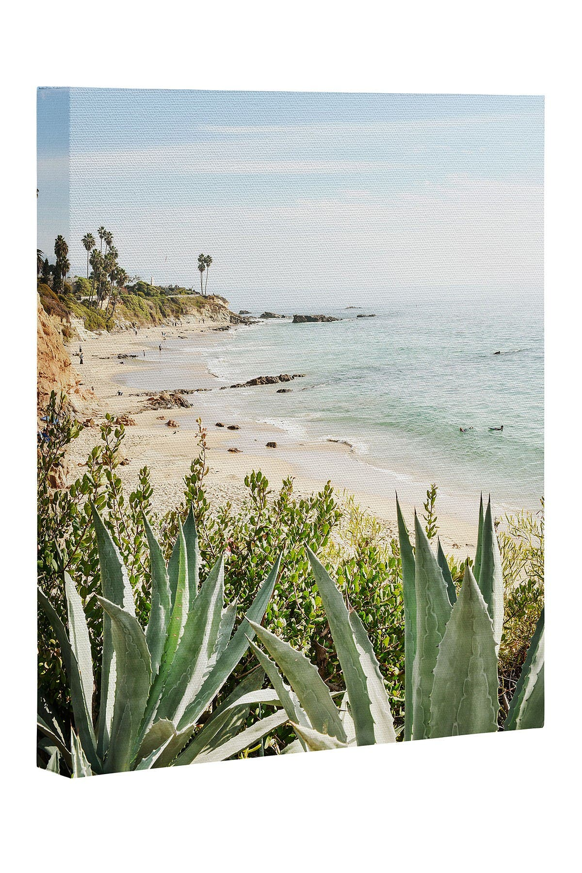 Image of Deny Designs Bree Madden Laguna Coast Art Canvas