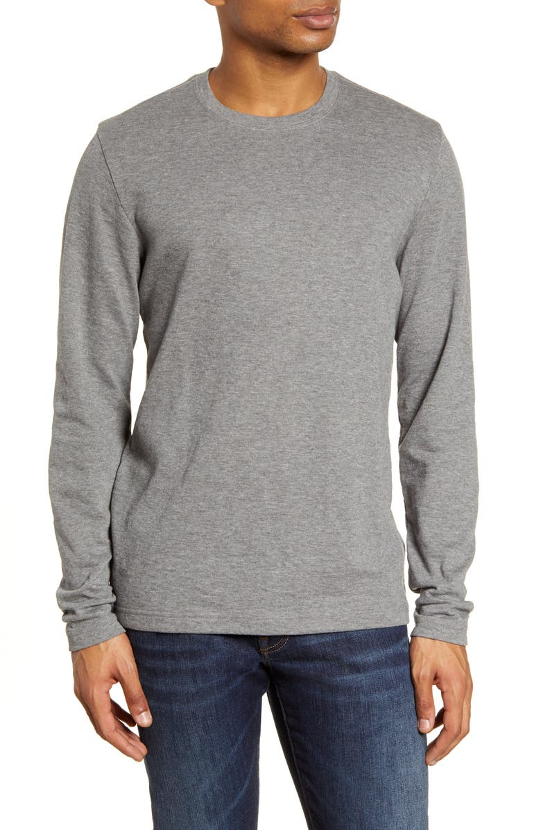 TRAVISMATHEW Renner Regular Fit T-Shirt, Main, color, HEATHER DARK GREY