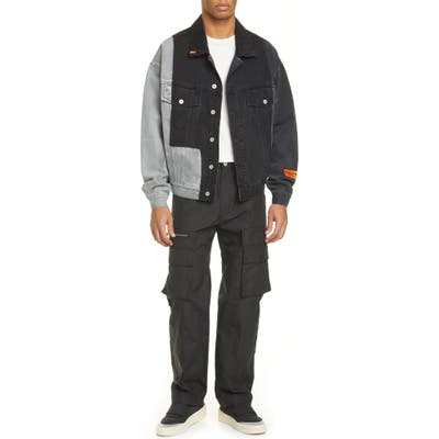 Heron Preston Cargo Pants, Black